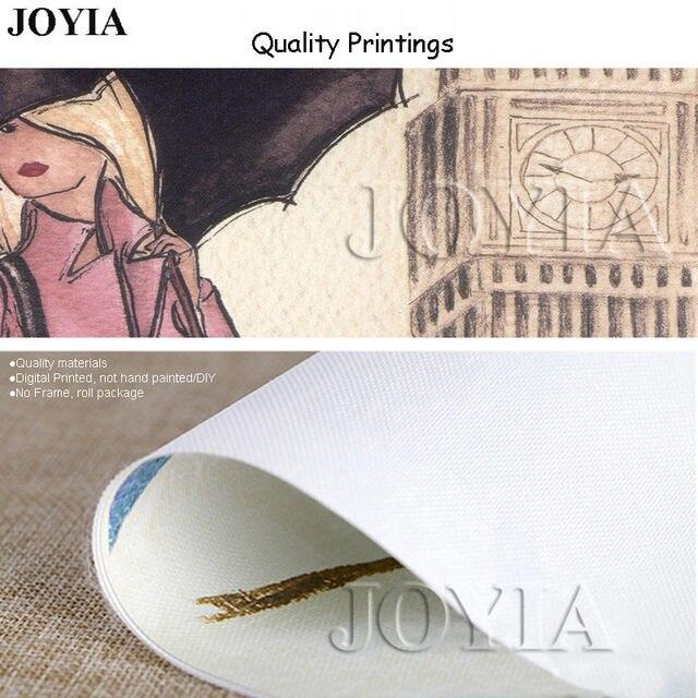 Tienda Online Impresión del arte de la lona del tríptico pintura ...
