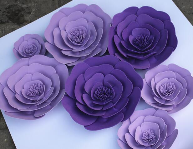 1piece rose15cm20cm 30cm 40cm 50cm large bubble paper flowers studio 1piece rose15cm20cm 30cm 40cm 50cm large bubble paper flowers studio wedding event props flat rose stage props wedding pvc rose in artificial dried mightylinksfo