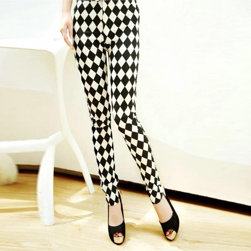 Fashion Women   Leggings   Pantalones Milk Print   Leggings   Summer Style Soft Skin Material Nine Women   Leggings   Pants