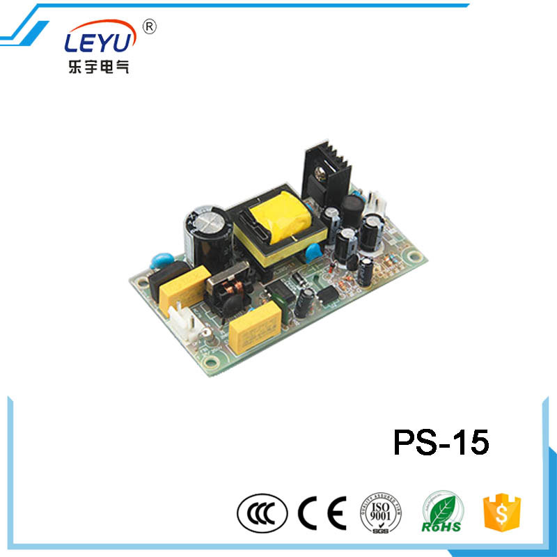 CE RoHS approved 15 watt open frame power supply real factory outlet PS-15-12 single output power supply купить