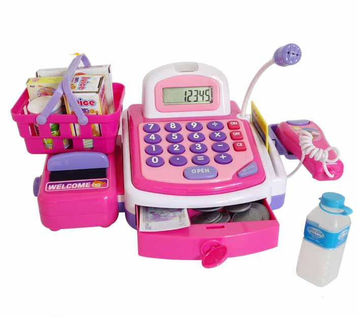 Machine Toys For Girls : Aliexpress buy child multifunctional cash register