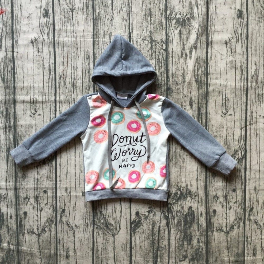 цена на mom and me hoodie outfits baby girls hoodie clothes children milk silk boutique hoodie Dunat be happy grey long sleeve hoodie