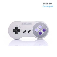 8Bitdo SNES30 Wireless Bluetooth RemoteDual Controller Classic Joystick Compatible with iOS Android Windows Mac Gamepad