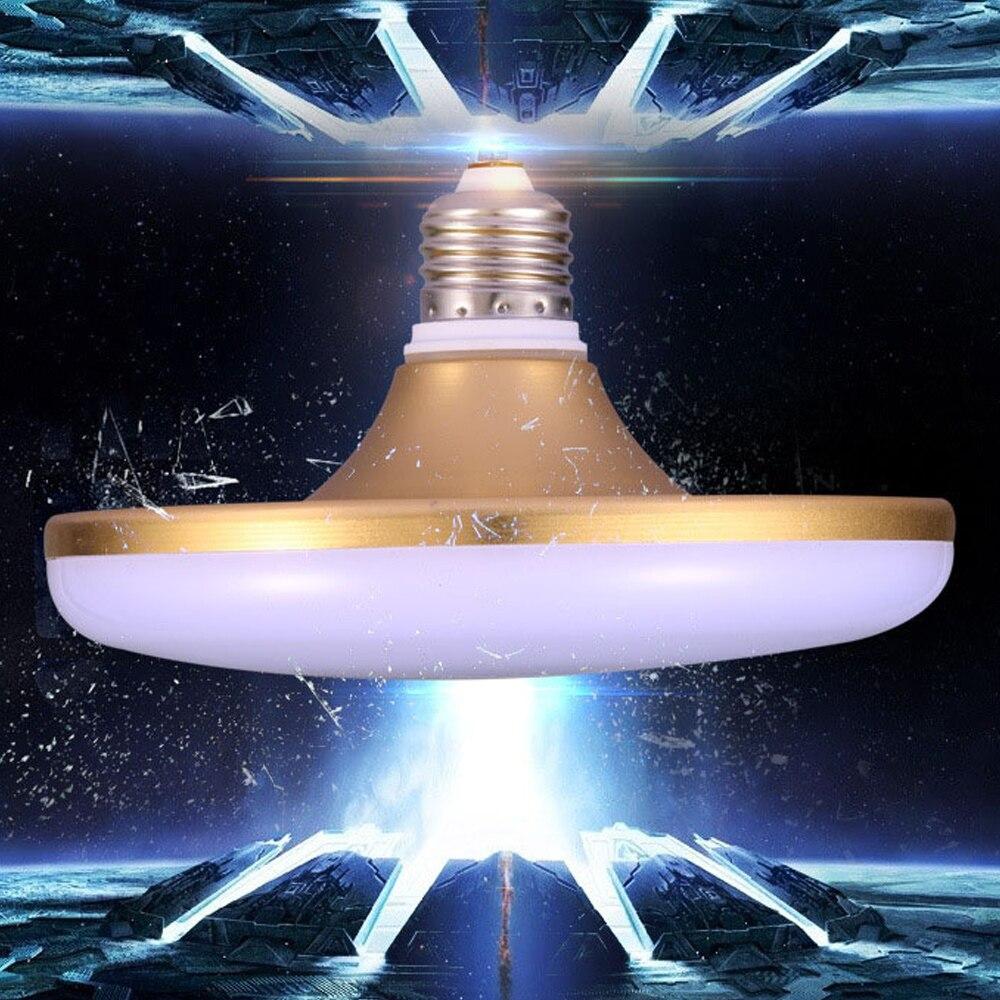 High Power E27 Energy Saving LED Lamp 20W 30W 40W 50W SMD 5730 Flat LED Light Bulb 220V E27 UFO LED Light for Home Lighting
