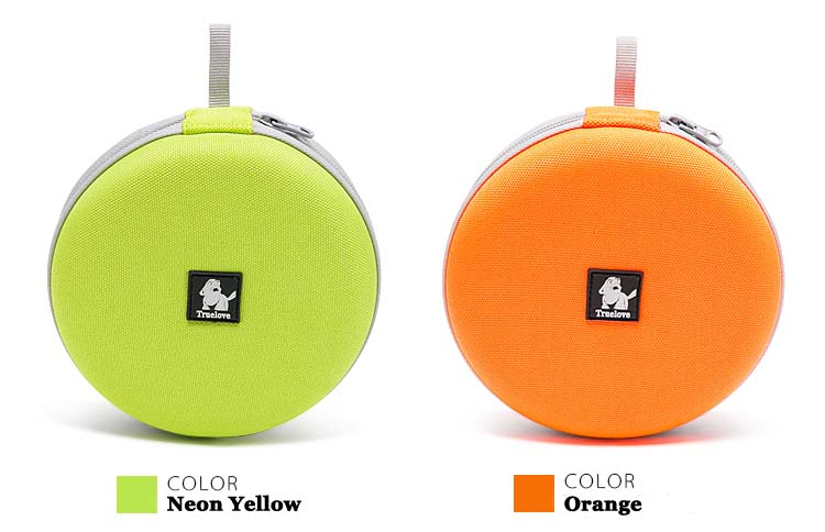 Truelove foldable Pet Bowl Travel Frisbee Collapsible 2 bowls for Water Food Feeding Waterproof Portable Dog Bowl dog supplies (4)