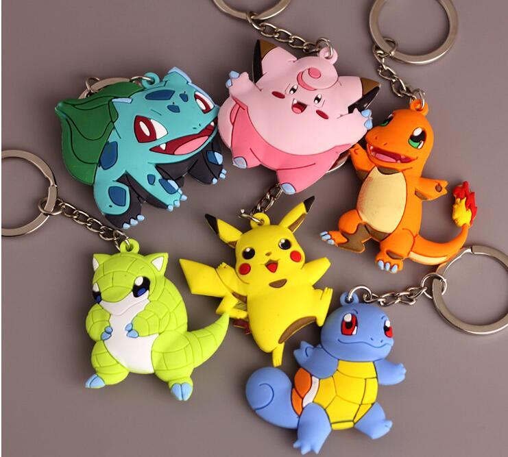 Aliexpress.com : Buy Pokemon Go Key Rings Cute Kids Party