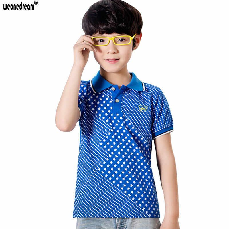 WEONEDREAM 2017ร้อนฤดูร้อนยี่ห้อเสื้อเด็กโปโลเด็กผ้าฝ้ายเสื้อโปโลเด็กโปโลInfantilประเดิมสั้นแขนเด็กชายเสื้อผ้า