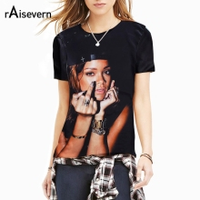 8e71d774deffe Buy rihanna tee and get free shipping on AliExpress.com