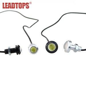 LEAPTOPS 1PCS18/23 LED DRL de Eagle Eye CAR Daytime Running Lights Fuente de Marcha Atrás Parking Señal Lámpara Auto Luz Impermeable DH