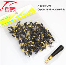 POINT BREAK High Quality 200 Bags of Sea Fishing With Copper Head Rotating Fishing Accessories(China)