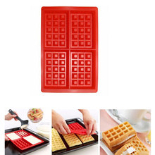 1 Piece Silicone Waffle Mold Muffin Cake Baking Tool kitchen