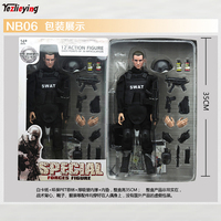 1/6 Scale SWAT NB06 Special police Force Military Army Combat Counter terrorism Team Soldier In 12 Inch Action Figure Set Toys