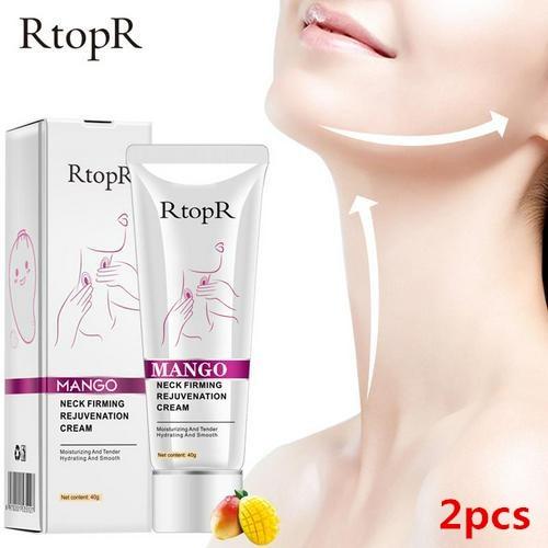 2PCS Neck Firming Rejuvenation Cream Anti-wrinkle Firming Skin Whitening Moisturizing Neck Serum Peeling Beauty Neck Care TSLM1