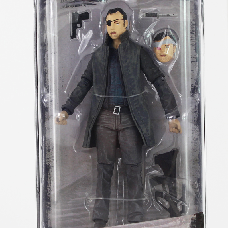 12cm AMC Series NECA The Walking Dead The Governor PVC Action Figure with New accessoriews Toy толстовка классическая billabong downhill bonded hood aqua blue