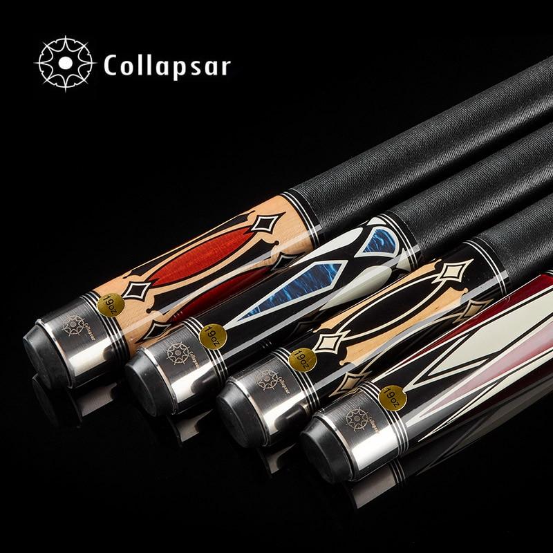 Collapsar CA 1/2 split billiard Pool cue nueve Bola brazo 147 cm billar Palos Arce eje 19 oz envío libre