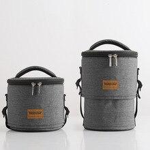 Портативный бочонок форма Термосумка для обедов коробка для пикника ледяная упаковка герметичные Напитки Еда охладитель сумка на плечо автомобиля изоляция крутая сумка