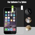 Protector de pantalla de cine de la tapa para iphone 7 7 plus completo (Vidrio no Templado) tercera TPU Cobertura De Forma Curva Plana Película Protectora