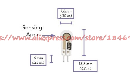 Thin film pressure sensor A101 Flexiforce Medical care wearable devices Pressure resistance type in Sensors from Electronic Components Supplies