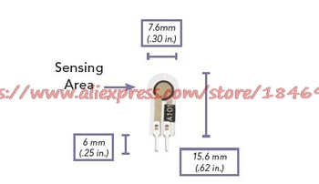 Thin film pressure sensor /A101/Flexiforce Medical care wearable devices Pressure resistance type flexiforce thin film pressure sensitive sensor module 100 25 1lbsa201