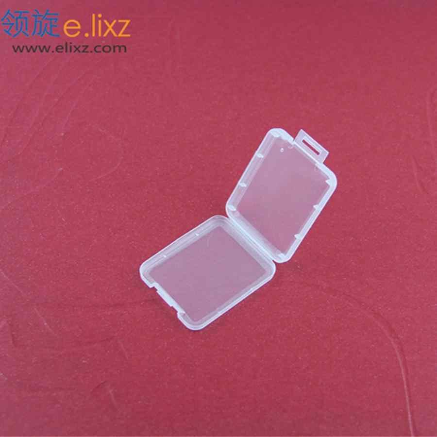 Купить 2 упаковки получить 1 пакет бесплатно 10 шт CF карты коробка памяти чехол компактный адаптер для флэш-карт прозрачный Эко-дружественный пластиковый чехол