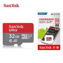 SanDisk Ultra เมมโมรี่การ์ด 32 GB 64 GB 128 GB 200 GB 256 GB Micro SD Class 10 MicroSDHC/ SDXC TF การ์ด 98 เมกะไบต์/วินาที 100 เมกะไบต์/วินาทีสำหรับ UAV โทรศัพท์มือถือ