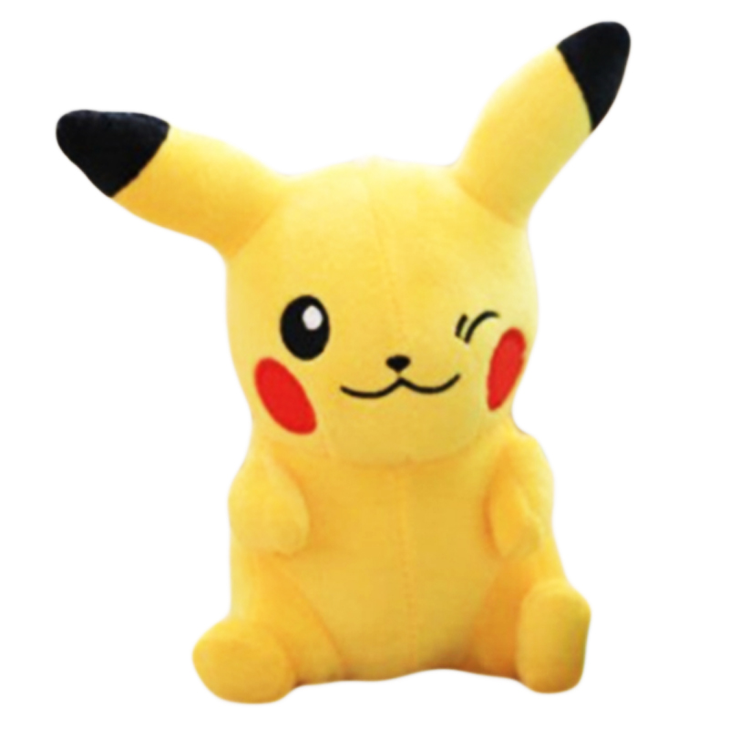 20CM Pikachu Plush Toy  Gengar Small Soft Toys Sleeping Pillow Doll For Kid Birthday Gifts Anime Jigglypuff Poliwhirl Charmander lovely giant panda about 70cm plush toy t shirt dress panda doll soft throw pillow christmas birthday gift x023