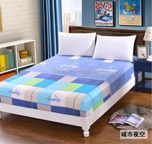 Moda hoja de cubierta de cama se prueba el sábana ajustable casos único circunferencial elásticas hoja colcha