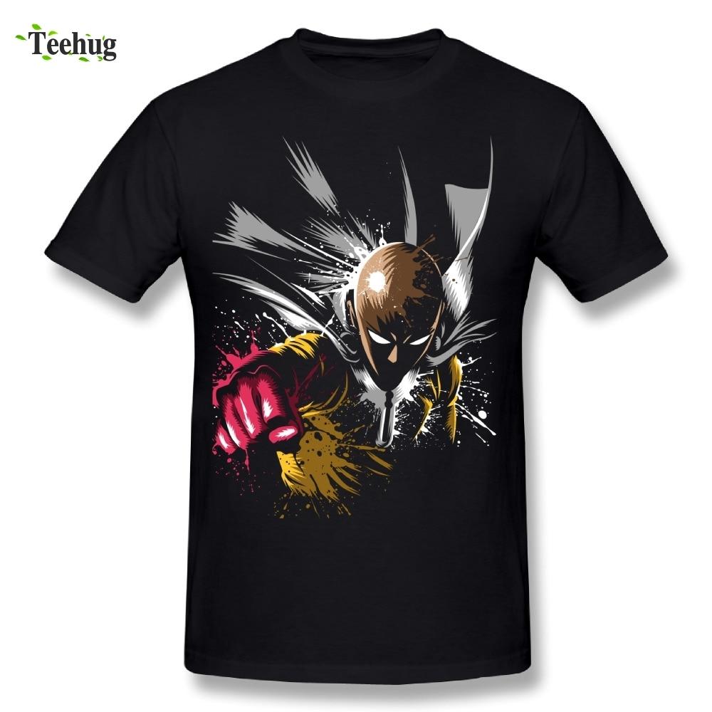 100% Cotton One Punch Man T Shirt 100% Cotton Hot Sale Anime T-Shirt