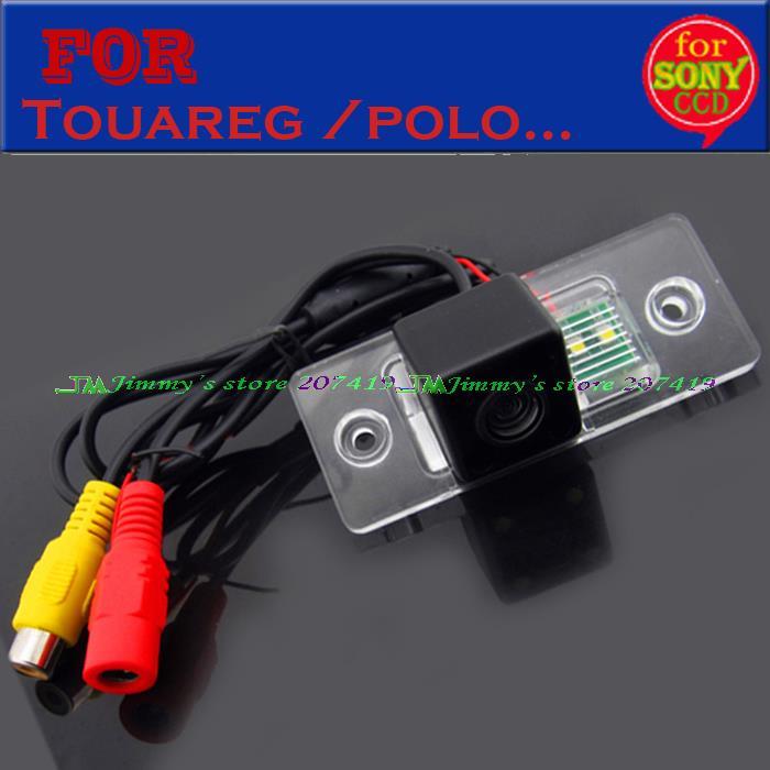 imágenes para Cámara de visión trasera para SONY CCD HD para VW Volkswagen Santana/Touareg/Tiguan/Polo (3C)/Skoda Fabia/Porsche Cayenne