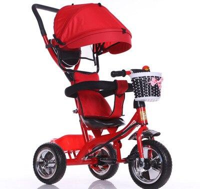 Новое поступление 2017 года хорошая цена ездить на велосипеде трехколесный велосипед корзину Детские коляски Детские 1-3-5 лет детский велосип...