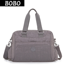 BOBO Brand Women Handbags High Quality Designer Messenger Bags Ladies Shoulder Bags Female Waterproof Nylon Crossbody Bag bolsas women backpacks women s nylon girl school bag high quality ladies bags designer bolsas masculina harajuhku mochilas kanken usb