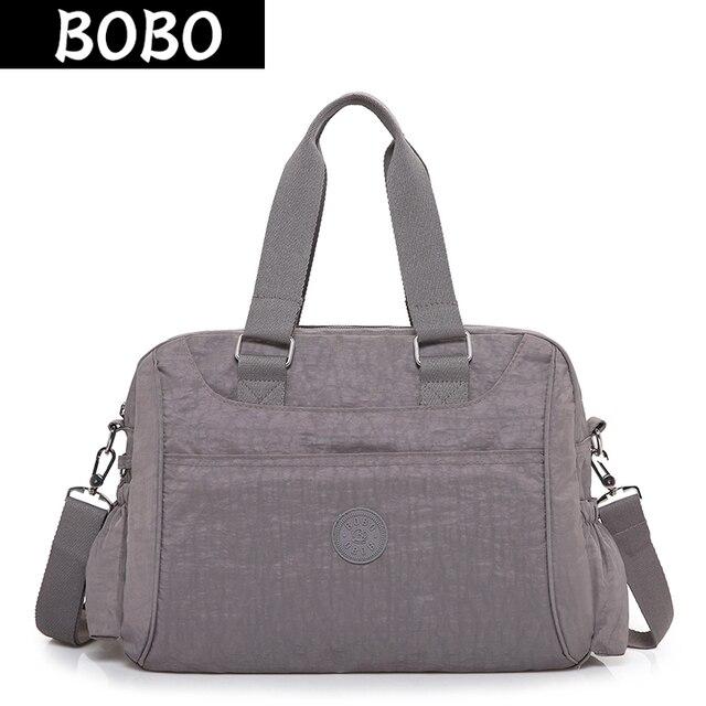 BOBO Brand Women Handbags High Quality Designer Messenger Bags Ladies  Shoulder Bags Female Waterproof Nylon Crossbody Bag bolsas 5faff350a2bb2