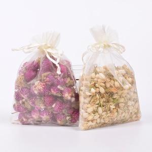 Image 5 - Flores secas naturales de jazmín, bolsita de fruta roja, relleno de flores secas, bolsita refrescante de aire desecante para armario de aromaterapia, 20g