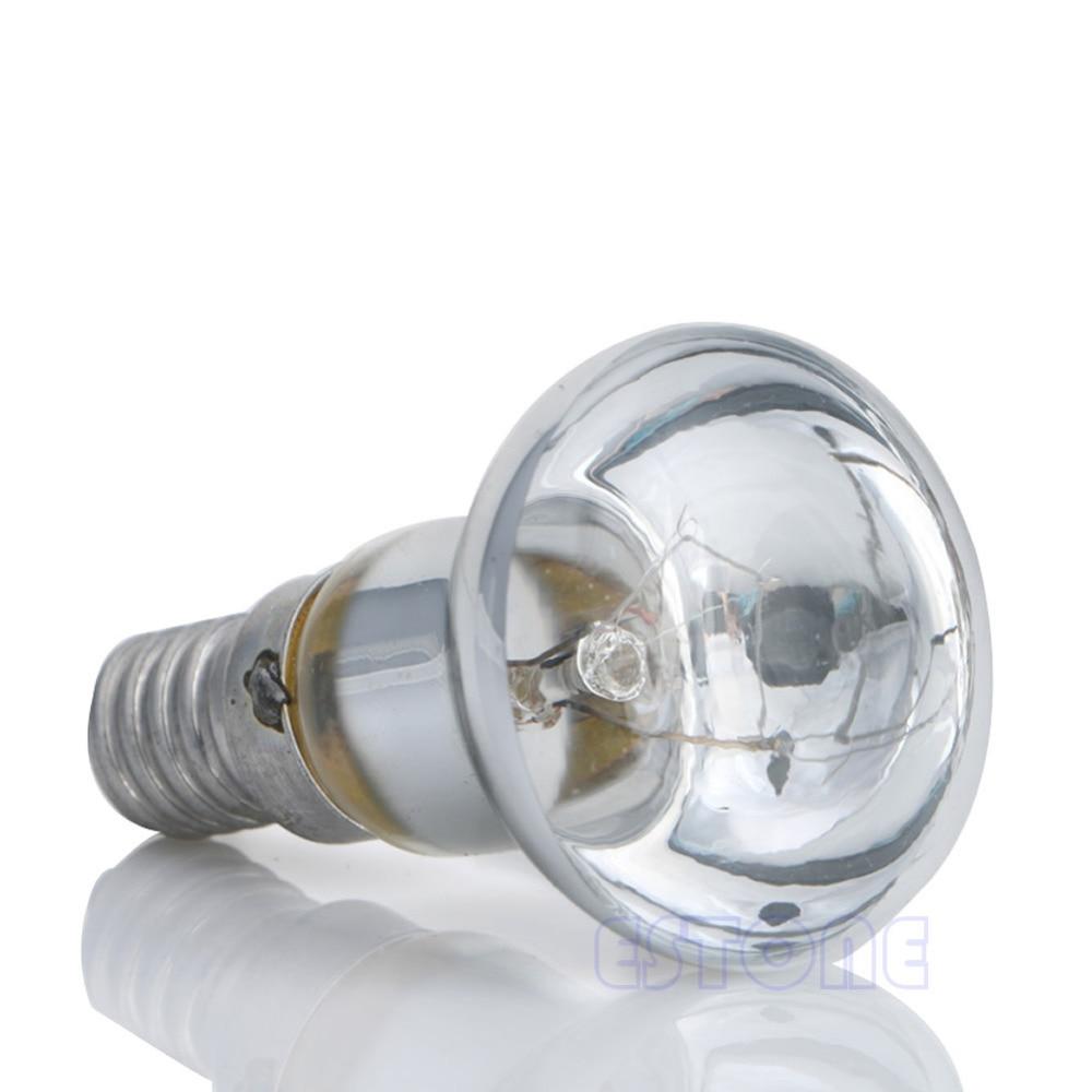 New Clear Reflector Spot Light Filament 30W R39 Bulb Lava Lamp SES E14 Screw