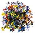 5 unids 144 Estilo Japonés Animación Juguetes de peluche Pocket Monster Pikachu Pokeball Figuras 2-3 cm Diferente Estilo de Dibujos Animados Mini-figura