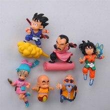 Dragon ball anime action figure fridge magnets figurine SON Goku ChiChi Oolong toys wukong Garage Kits Decora