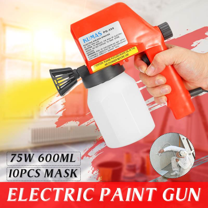 220V High Power Spray G Un Home Electric Paint Sprayer Easy Spraying And Clean Perfect For Beginner
