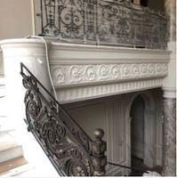 Dekorative geländer im freien metall treppen geländer gusseisen geländer für verkauf Fenster-Sicherheitsstangen Heimwerkerbedarf -