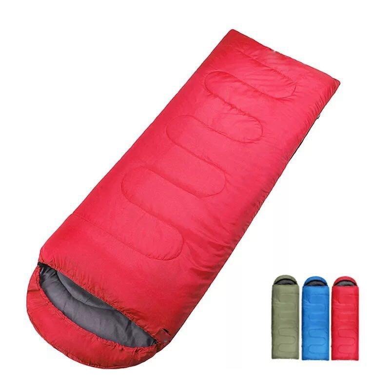 Outdoor Camping Envelope Sleeping Bag Thermal Adult Winter Sleeping Bag Outdoor Travel Sleeping Bed Drop Shipping