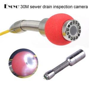 Image 3 - Eyoyo 30M 7D1ท่อระบายน้ำกันน้ำกล้องวิดีโอ120องศาท่อระบายน้ำท่อตรวจสอบกล้อง4500MAhแบตเตอรี่Inspekcyjna Wodoodporna