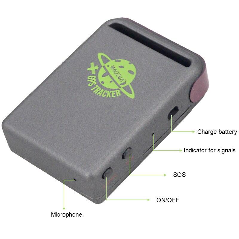 В режиме реального времени GPS/GSM/GPRS Автомобильный gps-трекер TK102 устройство слежения автомобиля в реальном времени расположение по скоростной...