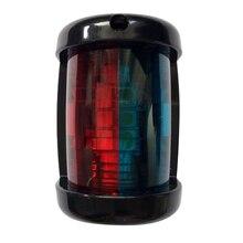 Luz de navegación LED para yate, barco marino, 12V, luz de estribor roja y verde