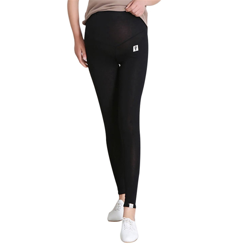 2019 New Fashionn Maternity Leggings Skinny Women Pants for Pregnant Clothes Basic Pregnancy Leggings Solid Maternity Trousers