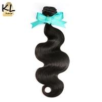 KL Hair Brazilian Body Wave Hair Bundles 100 Human Hair Weaving Natural Color 8 28 Remy
