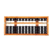 Vintage-Style Chinese Wooden Abacus, Lucky Calculator