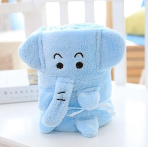 Image 4 - CAMMITEVER Lovely Cartoon Animal Blankets Coral Fleece Baby Blanket Soft Bedding Infant Quilt Children Home Sleeping Bag Kid