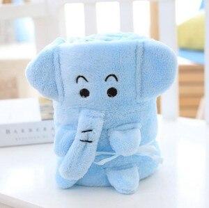 Image 4 - CAMMITEVER Schöne Cartoon Tier Decken Korallen Fleece Baby Decke Weichen Bettwäsche Infant Quilt Kinder Hause Schlafsack Kind
