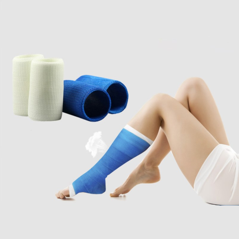 1 Roll Replace POP Bandage Medical High Polymer Fixed Bandage Need Add Pure Cotton Flakes Padding For Fracture Fixation