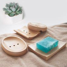 Оригинальный деревянный поднос для мыла Коробка ручной работы