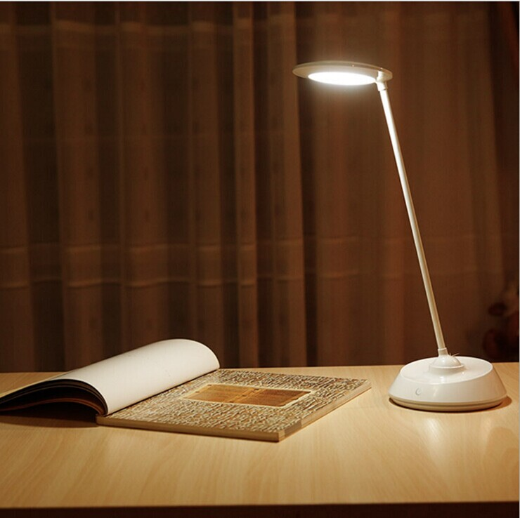 ФОТО Excelvan LED Touch On/off Switch Desk Lamp Children Eye Protection Student Study Reading Dimmer Rechargeable Led Table Lamps